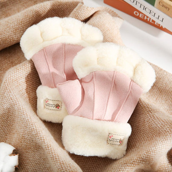 Cute plush gloves DB6169