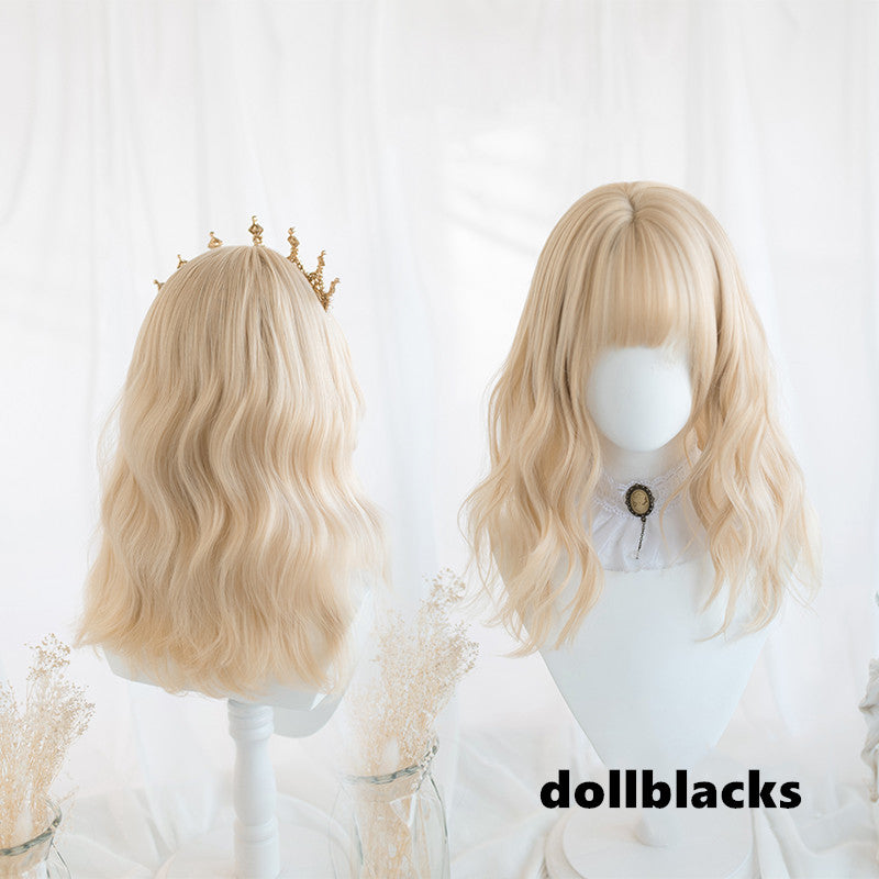 Lolita milk golden wig DB4776