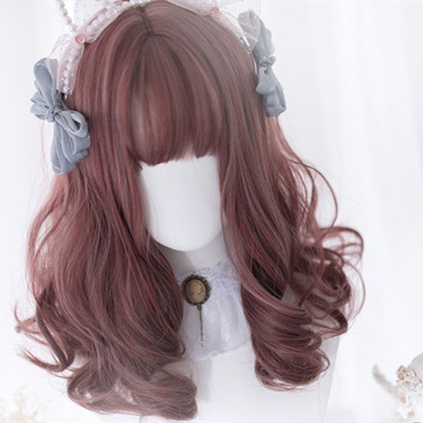 Lolita thin chestnut wig DB4543