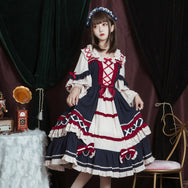Lovely Lolita Long Sleeve Dress DB6277