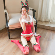 Sexy Christmas Net Suit Set DB4924