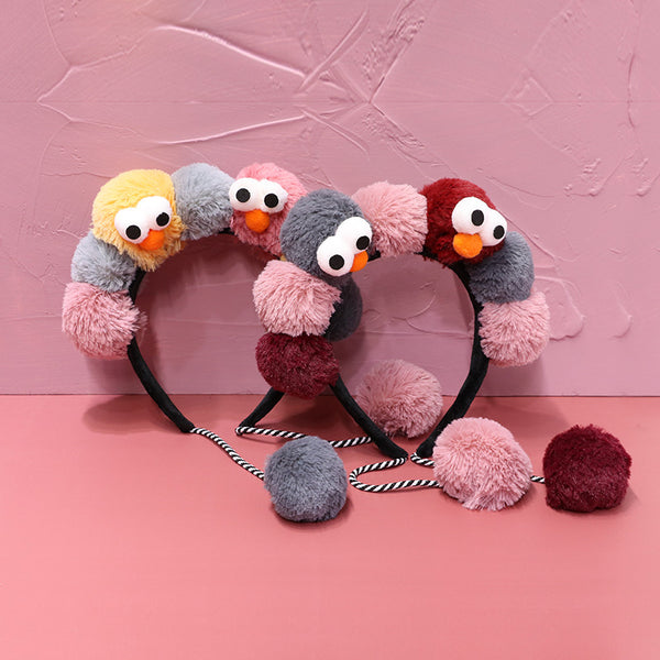 Cartoon plush ball headband DB5444