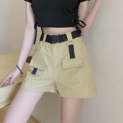Punk wide leg shorts DB4295
