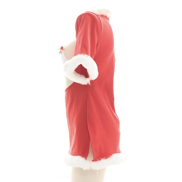 Red Christmas Plush Nightdress  DB6247
