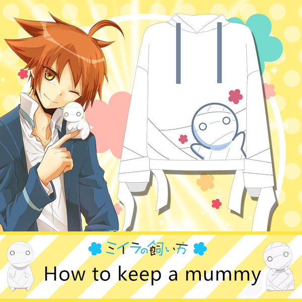 How to keep a mummy anime hoodie jacket DB5231