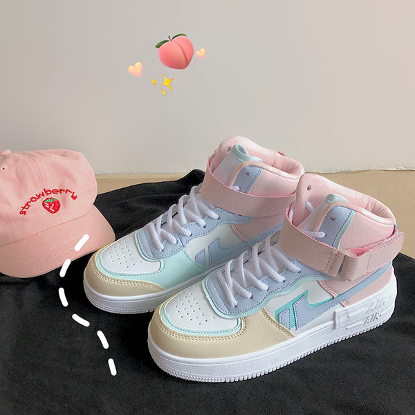 All-match macaron sneakers DB6212