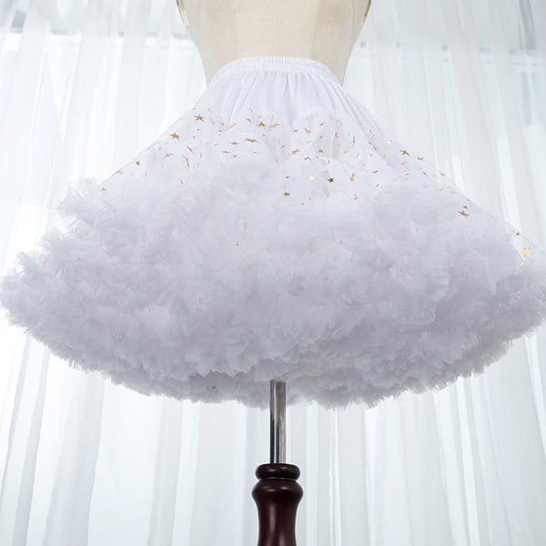 Lolita star boneless soft yarn petticoat DB6410