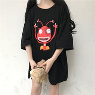 Dark ant print short sleeve T-shirt DB5221