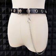 Punk chain belt DB5326