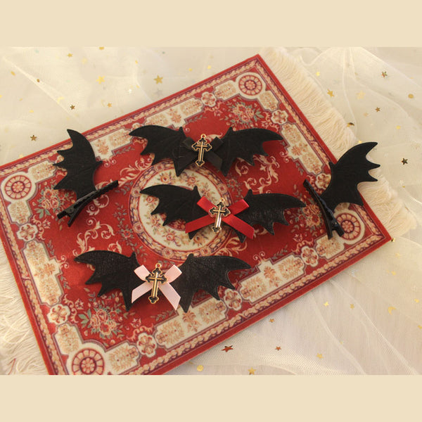 Little devil wings hairpin DB5919