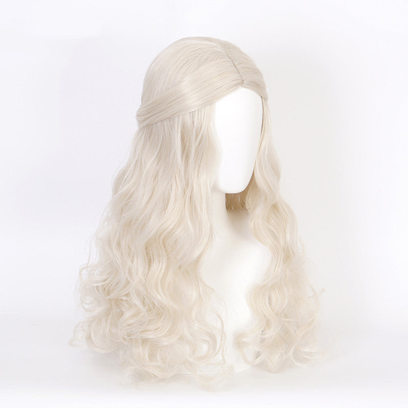 The White Queen cosplay long curly hair wig DB5283