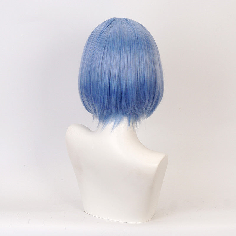 Anime cos ice blue wig DB5823