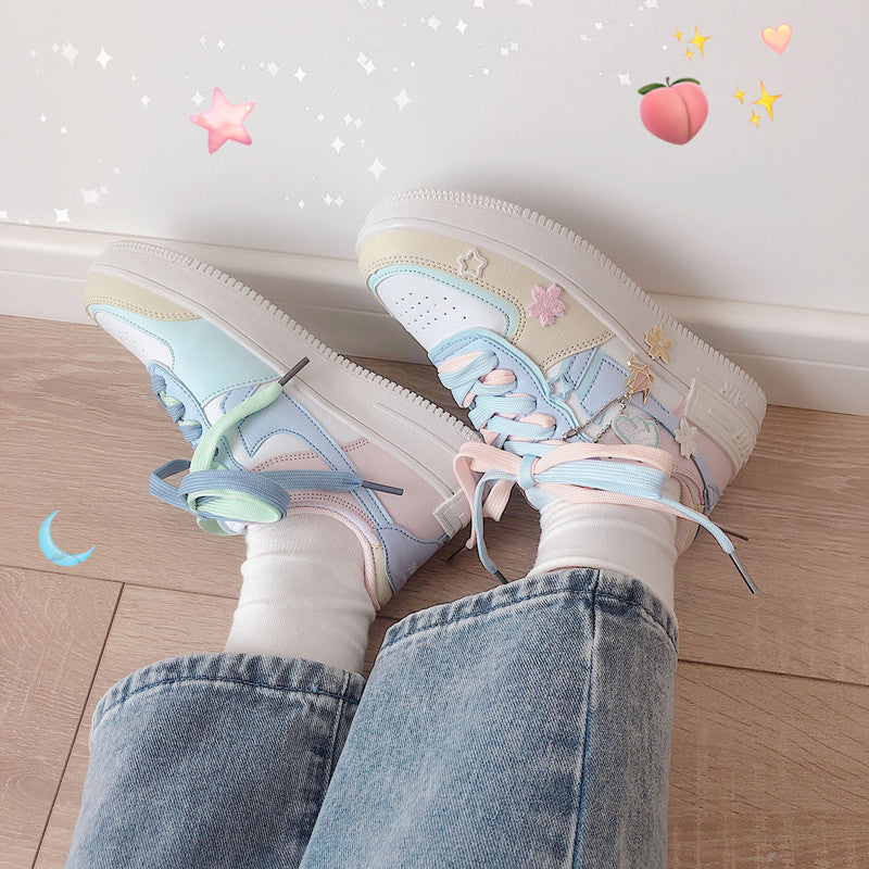 All-match milk tea sneakers DB5902