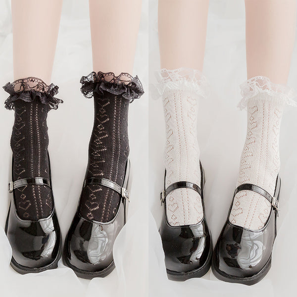Cute Love Knitted Short Socks DB5787