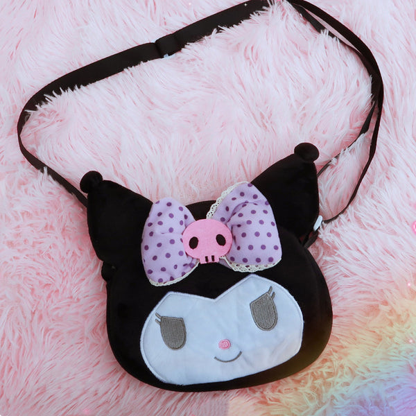 Kuromi Lolita Shoulder Bag, Wallet DB5981