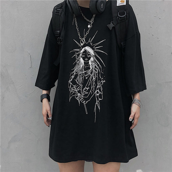 Diablo Goddess Short Sleeve T-Shirt DB5287