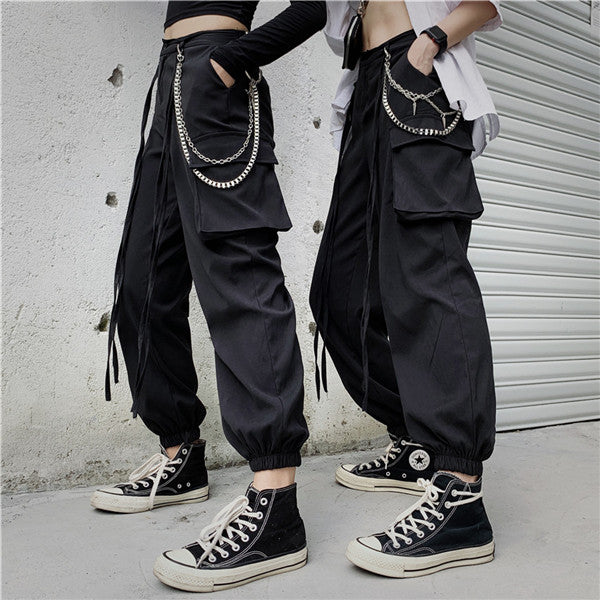Unisex punk casual pants DB4999