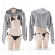 Sexy wild hooded sweater DB4815
