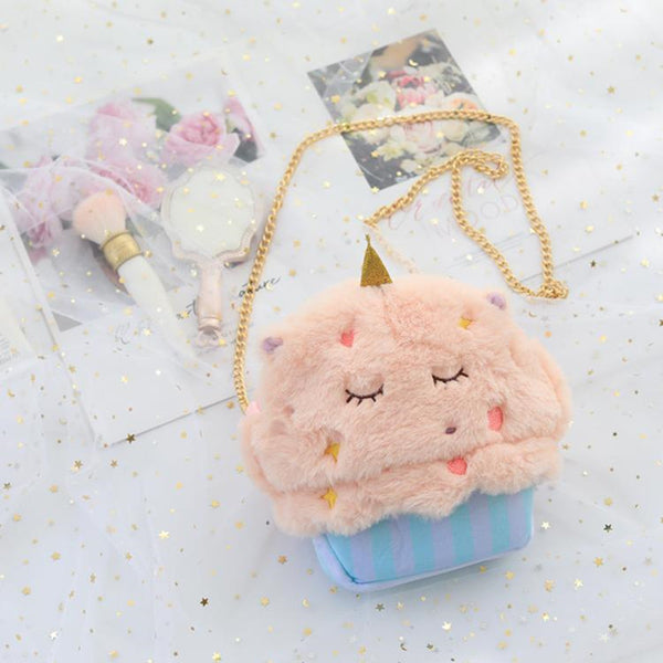 Cartoon rabbit unicorn shoulder bag DB6341