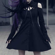 Dark punk dress DB2022