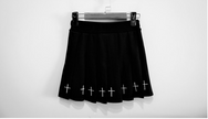 Dark Embroidered Skirt  DB2058