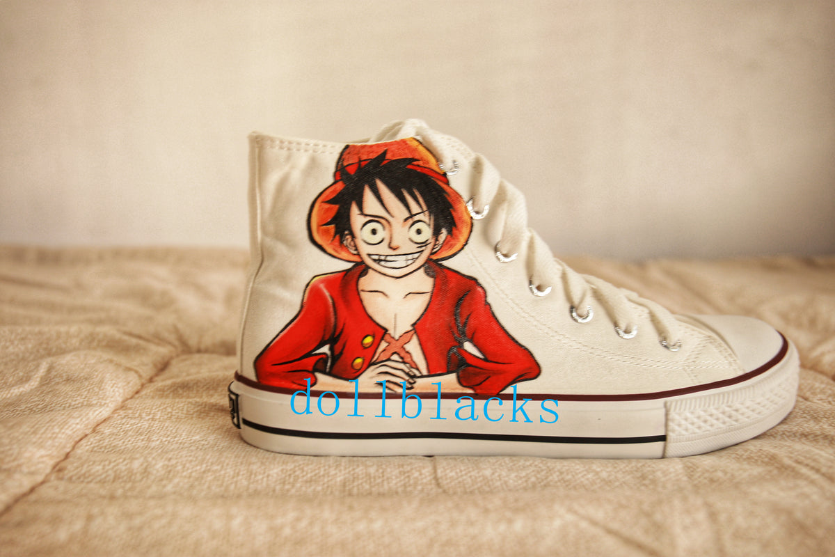 ONE PIECE hand-painted shoes DB4591