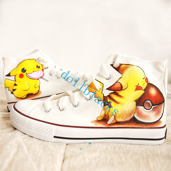 Pikachu hand-painted shoes DB4587