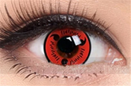 COS NARUTO contact lens (two pieces) DE1107
