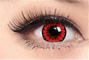 COS HONEY RED contact lenses (two pieces) DE1115
