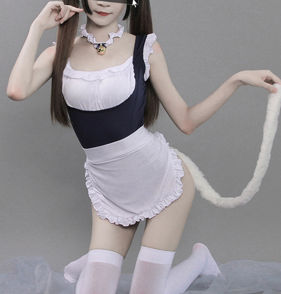 Sexy cat maid set DB4621