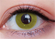 Cos double ring yellow contact lens (two pieces) DE1167
