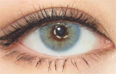 Aurora blue contact lenses (two pieces) DE1199