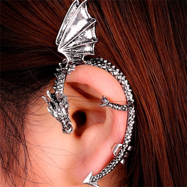 Punk Dragon Ear Clip DB5151