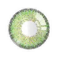 Dream Green contact lens (two pieces) DE1154