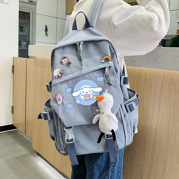 Cartoon Cinnamon Dog Melody Backpack DB6505