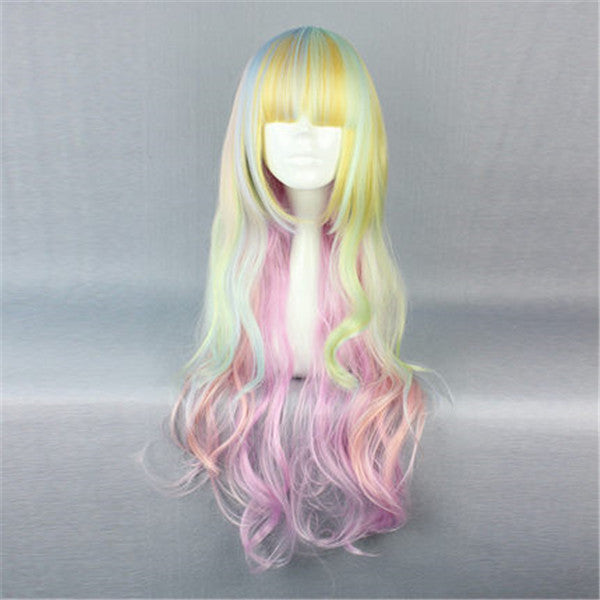 Lolita Harajuku mixed color wig DB5772