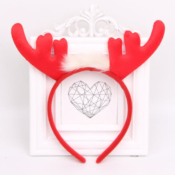 Christmas moose headband DB4831