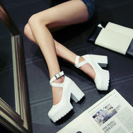Lolita high heel shoes DB3035