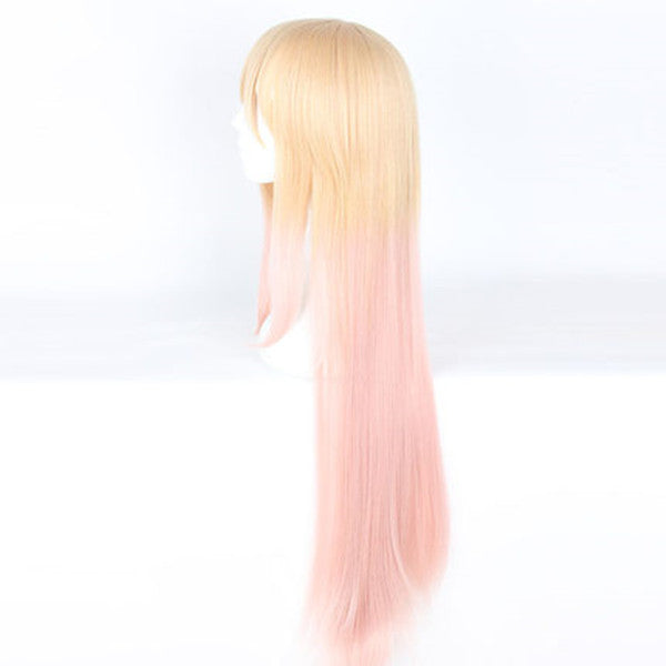 Prince Chara cos golden gradient pink wig DB5731