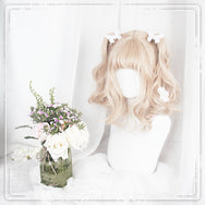 Lolita brown and white gradient wig DB4834