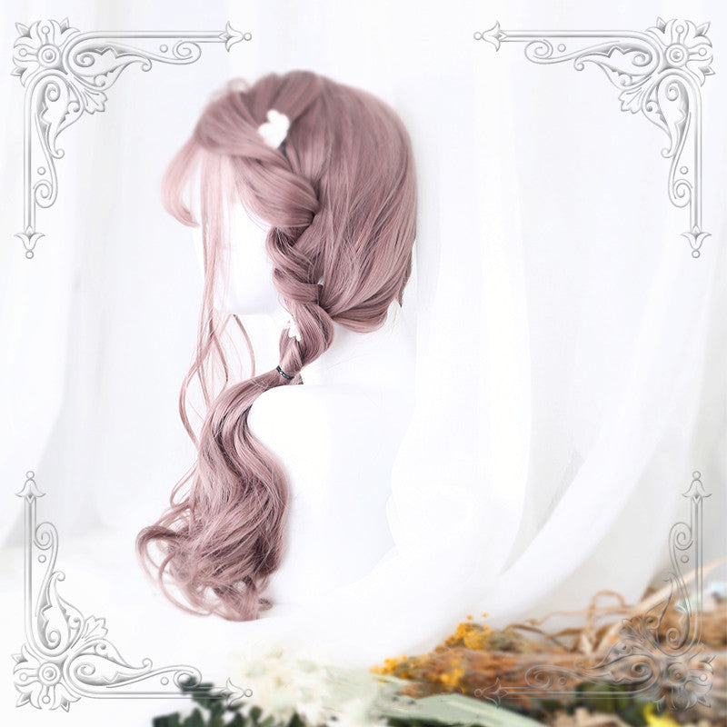 Lolita Rose Gray Pink Wig DB4728
