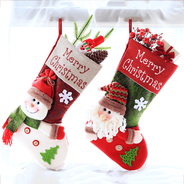 Christmas socks gift bag DB6266