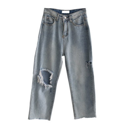 Punk hole jeans DB4226