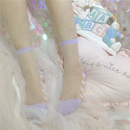 Love transparent socks DB5975