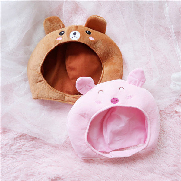 Cute animal plush hat DB5430