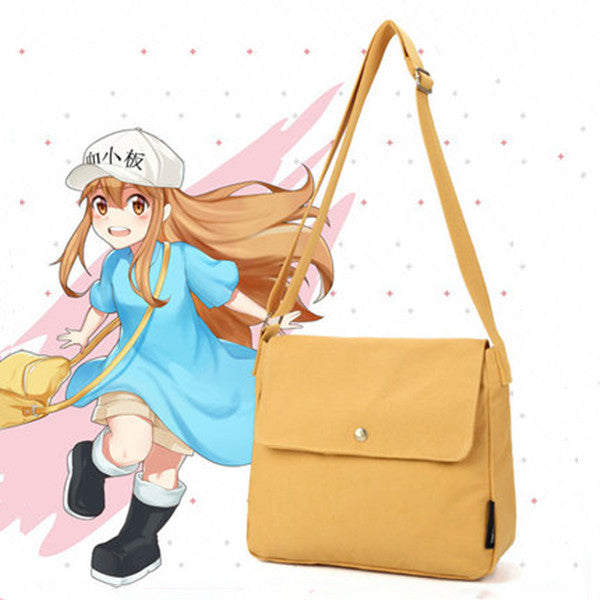 cos Platelet yellow shoulder bag DB5130
