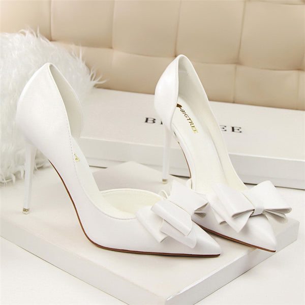 Bow high heels DB6055