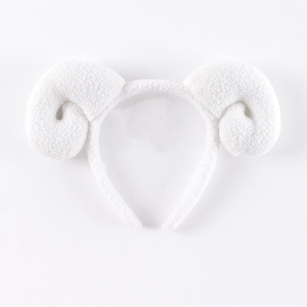 Mianyang horn plush headband DB4830