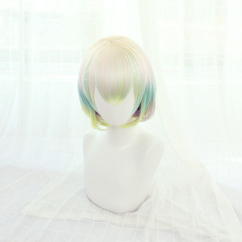 Diamond cos gradient wig DB5254