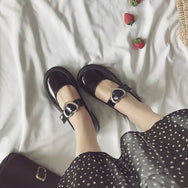 Lolita love leather shoes DB5957
